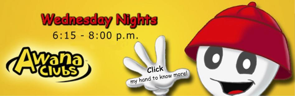 Awana Clubs Wednesday Nights